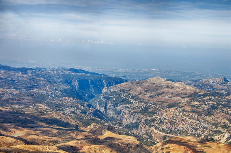 Qadisha Valley from the Road to the Black Peak
