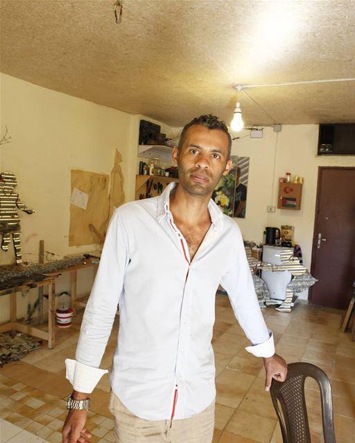 Artist Abdul Rahman Katanani sabra shatila beirut lebanon ... (Sabra)