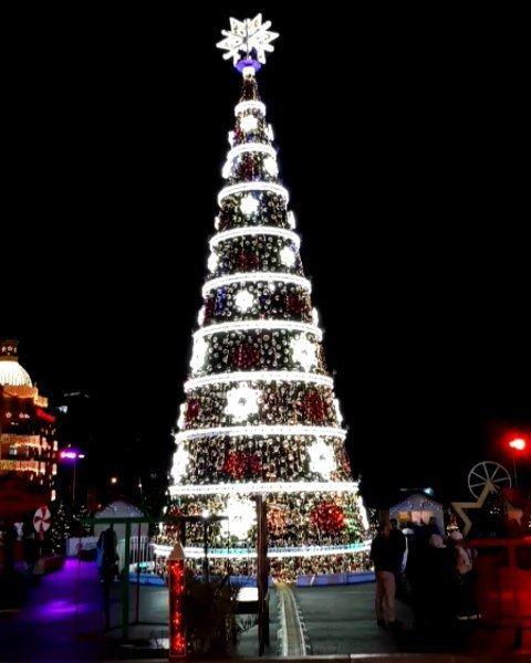 Beirut🌟DT... Christmas 🎄 spirit lights season christmastree ...