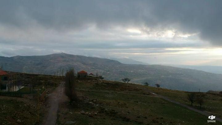 First flight, fresh snow🦅... firstflight dji drone djispark ... (Mount Lebanon)