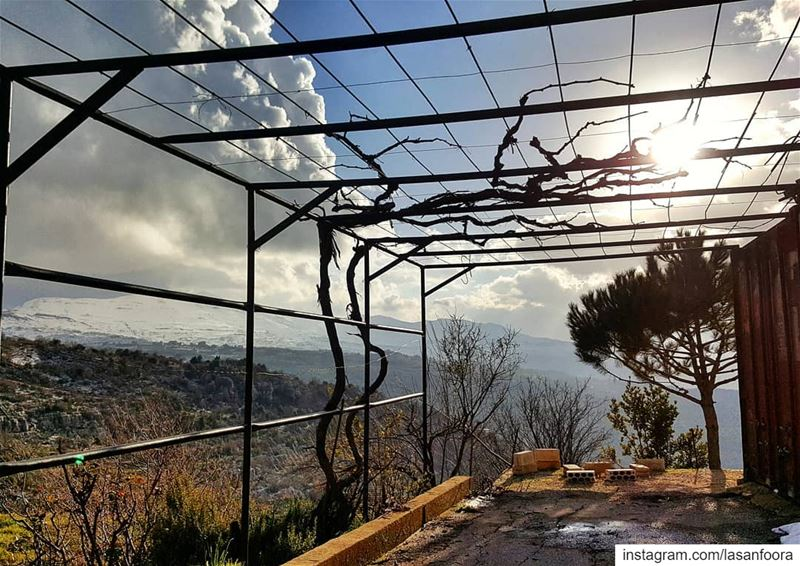 Paradise doesn't have to be Tropical. lebanonismyparadise ... (Tarchich)