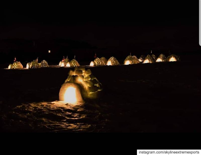 Tag ur igloo partner to be prepared for the big event🤩 alaskanight2019...