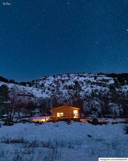 A night under the stars ✨..... landscape landscapephotography... (Cedars Ground Campsite)