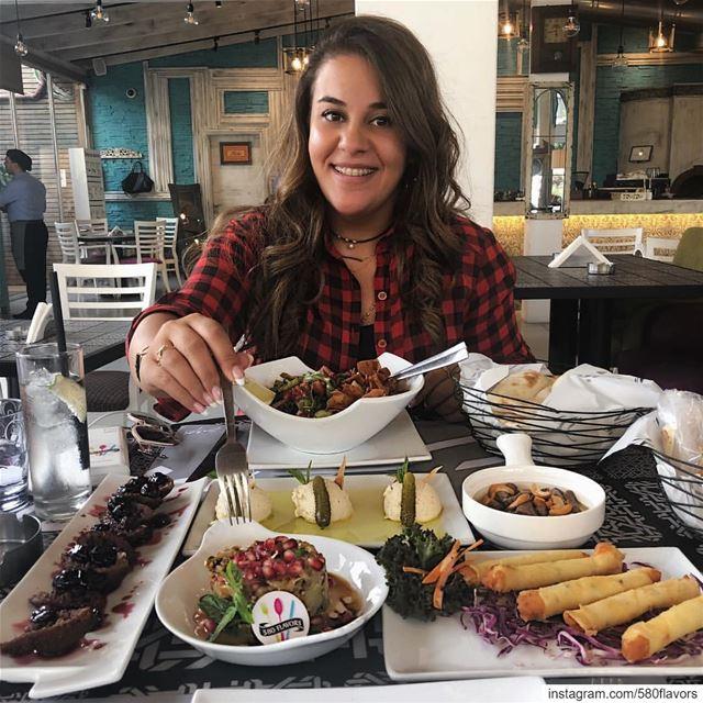 Today's lunch 😍😍 @terracebeirut beirut ... 580flavors livelovefood ... (Terrace Beirut - Kantari Village)