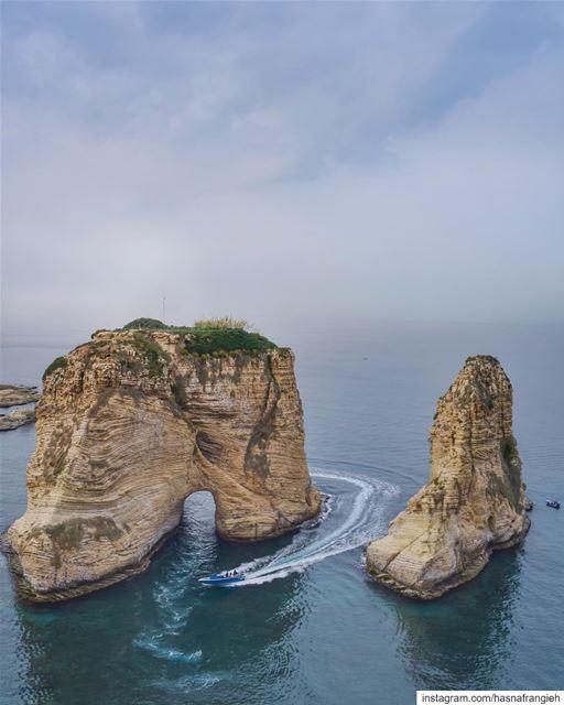 Sailing into the weekend 💙________________________________________... (Beirut, Lebanon)
