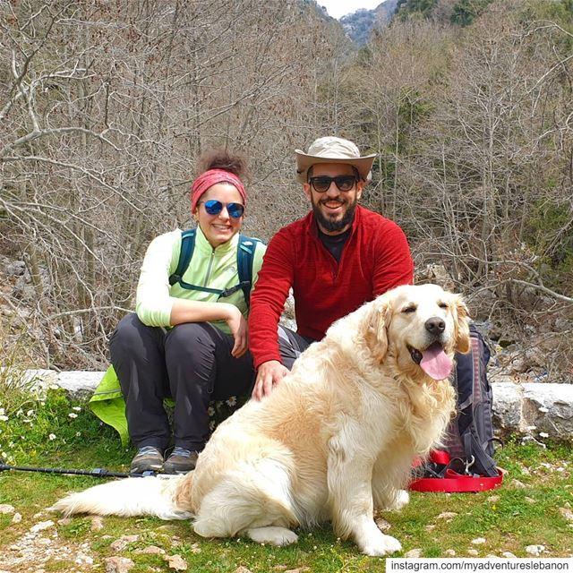 Life 👫🐶🏞 myadventureslebanon mountaineering choosemountains ... (Lebanon)