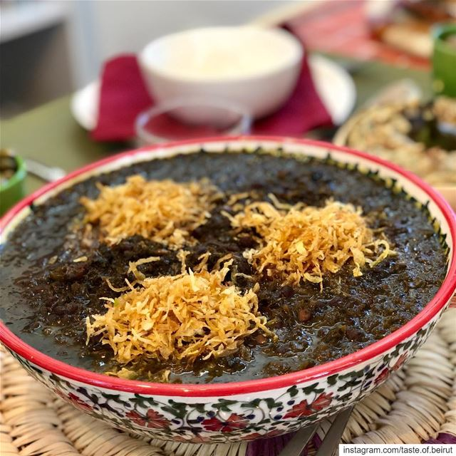 Tasting the authentic Iranian pomegranate soup (so yummy) motivates me to...