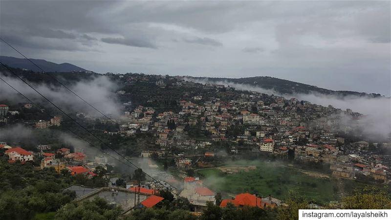 morningview hasbayapictures livelovelebanon❤️ livehasbayalove ... (Hasbayya, Al Janub, Lebanon)