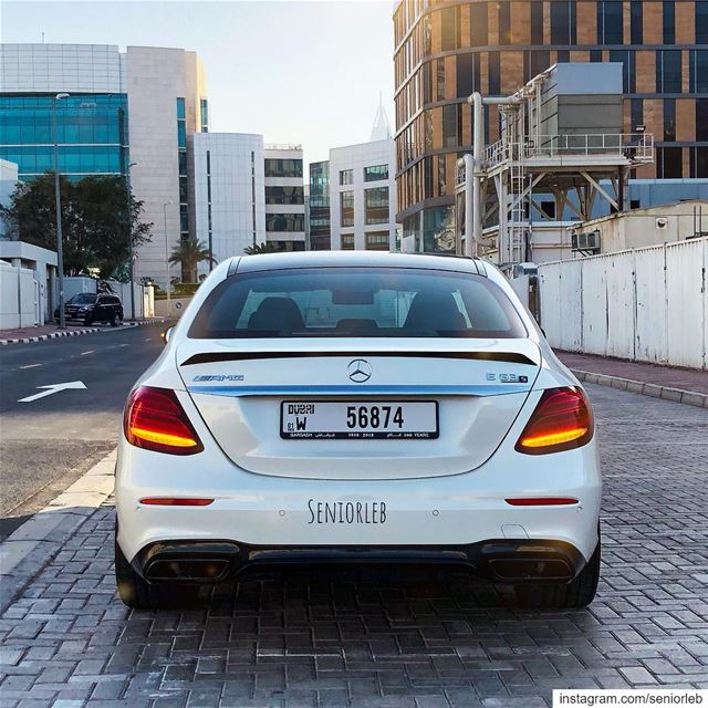 Mercedes Benz AMG E63 S 4matic + full review on my YouTube channel. Check... (Dubai, United Arab Emirates)