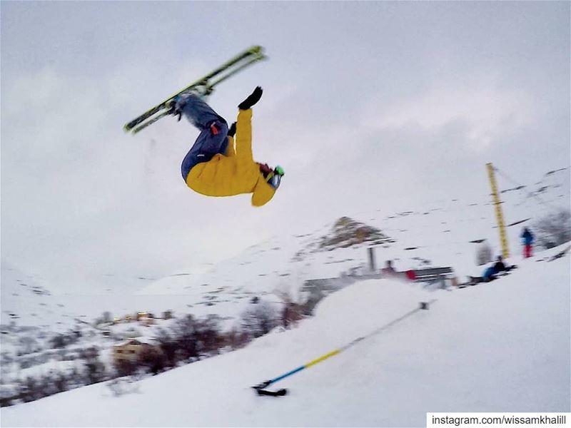 Never ending ski season ⛷️ faraya farayalovers lebanon ... (Faraya, Mont-Liban, Lebanon)