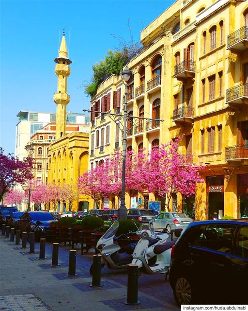 شوارع بيروت 💙 beirut beirutlife beirutcity mycitybeirut downtown lebanon...