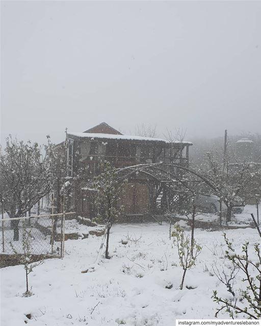 Sweet getaways🧭❄🗺 myadventureslebanon cabin cabinlife ... (Lebanon)