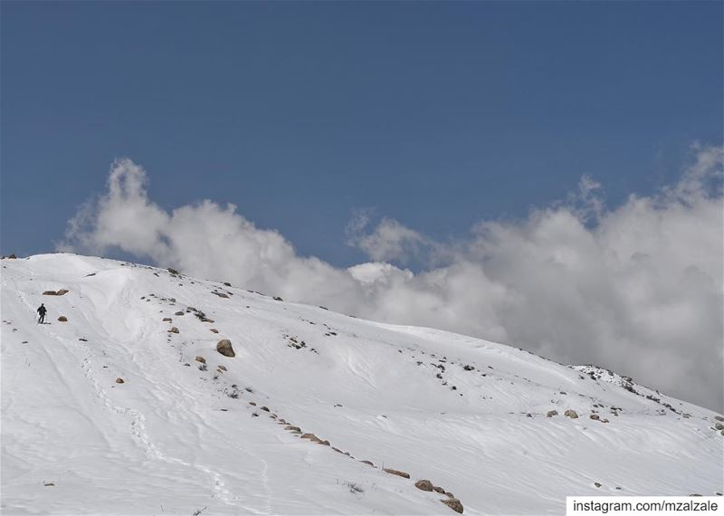 Level with the clouds... aLebaneseSpring Lebanon Hiking Mountains ... (Zaarour)