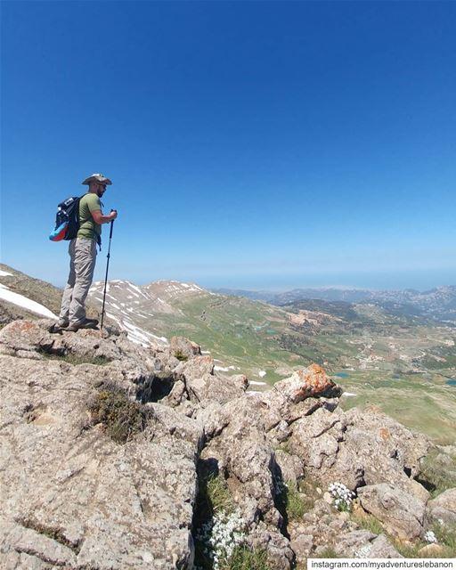 All the way 🏔🗺🧭 myadventureslebanon mountaineering choosemountains ... (Mount Lebanon Governorate)