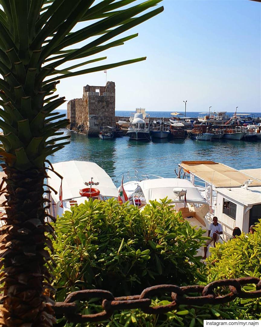 Enjoying the last days of summer in Byblos ......... Lebanon ... (Pepe's Byblos Fishing Club)