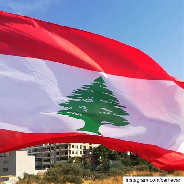 lebanon baabda lebanese flag livelovelebanon livelovebeirut ...