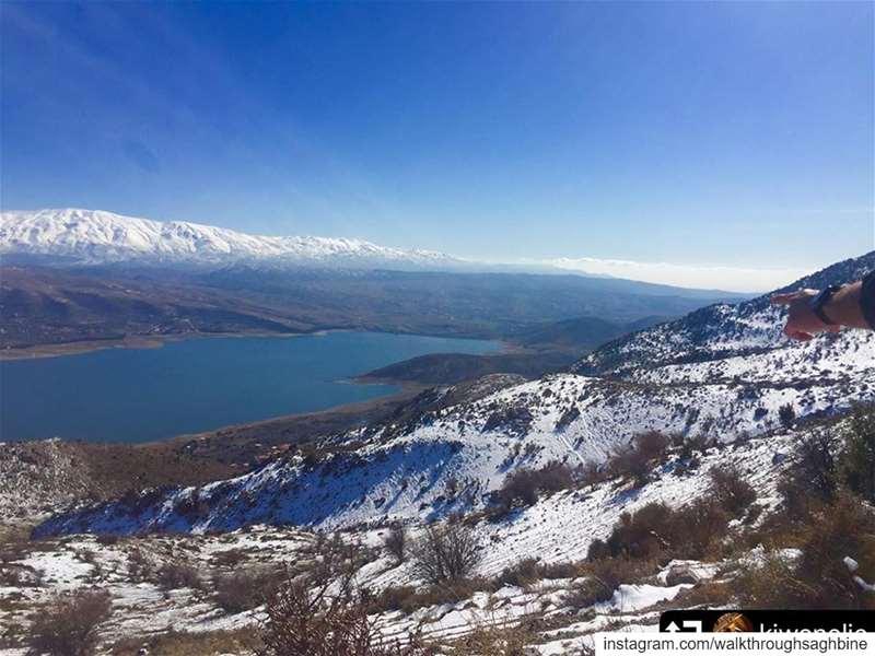 repost @kiwanelie・・・When your village is better than Zaarour, Faraya w... (Saghbîne, Béqaa, Lebanon)