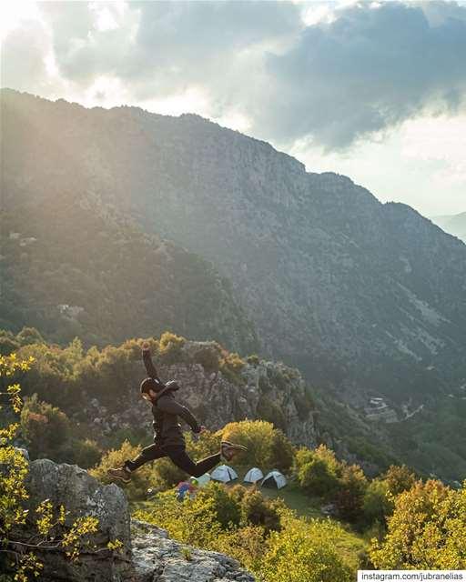 jubranjumps 🏃🏻♂️ 📸: @whereishaig ...... lifeofadventure ... (Lebanon)
