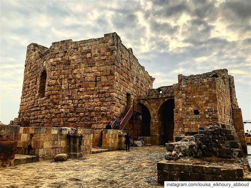 lebanon southlebanon sidon saida sidonseacastle saidaseacastle ... (Sidon Sea Castle)