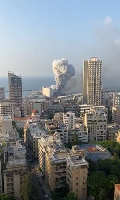 Videos from the Beirut Blast August 4, 2020