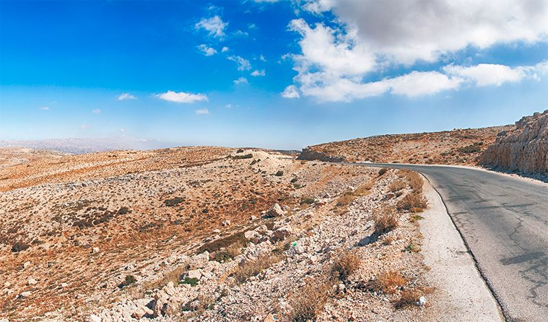 Oyoun el Siman - Bekaa Road (Panoramic View)