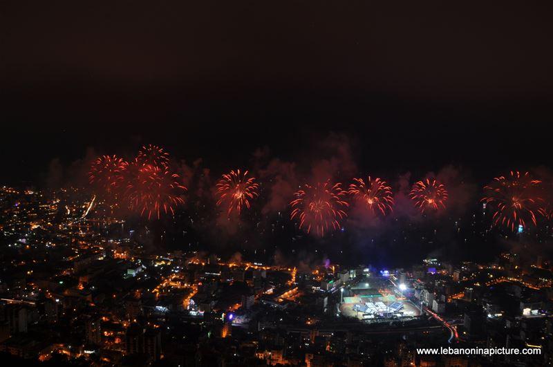 Jounieh Fireworks Summer 2015