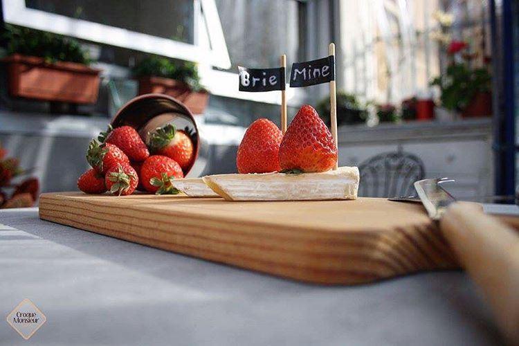 """""""Brie Mine..This valentine!❤️""""@croquemonsieurleb valentine love ... (Croque-Monsieur Sandwich Bar)"""