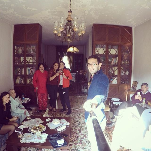 When in leb and its the holiday christmas family familia ...