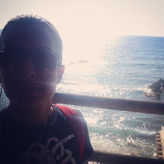 beach sun sunny ocean water batroun lebanon waves sunset view ...