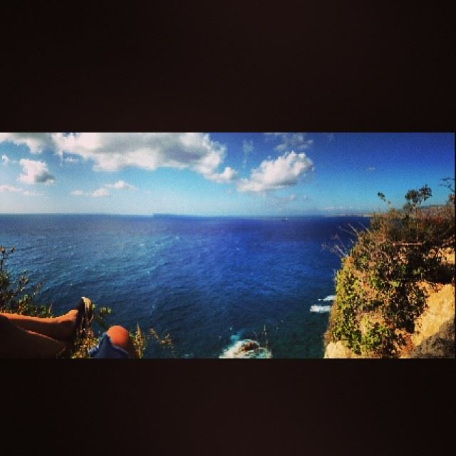view climb rock spot amazing chill relax relaxation mode waves ...