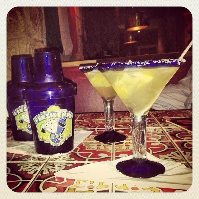 tequila margarita presidente chillis gemayzeh lebanon alcohol ...
