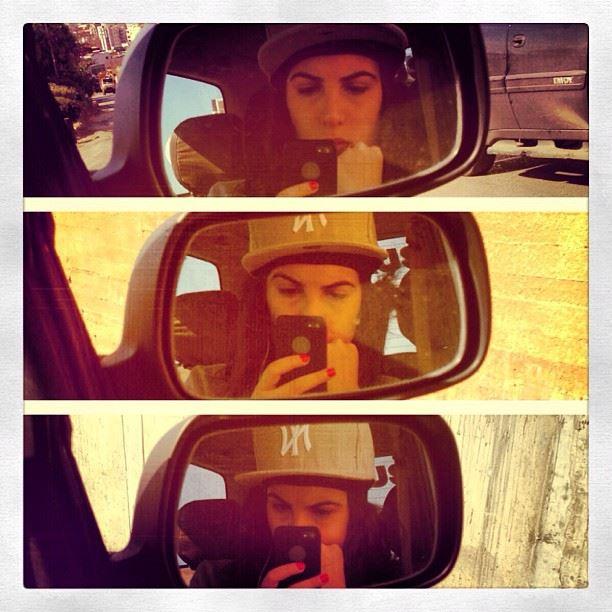 traffic jam beirut lebanon tuesday mirror car bored hat newyork ny style...