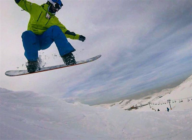 Cant get enough!! 😐 burton snowboarding gopro lebanon mylebanon ... (Faraya Mzaar)