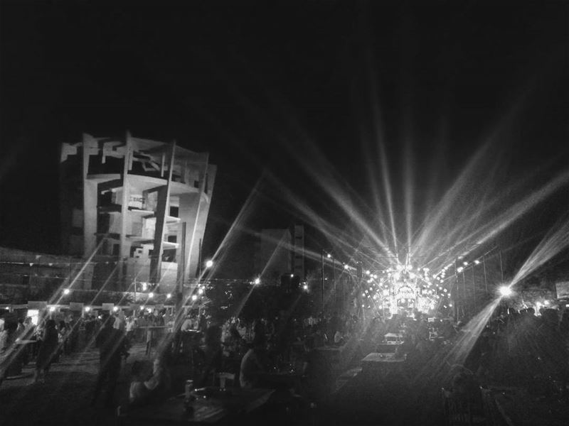 La fiesta -  ichalhoub in  Batroun north  Lebanon shooting with a mobile...