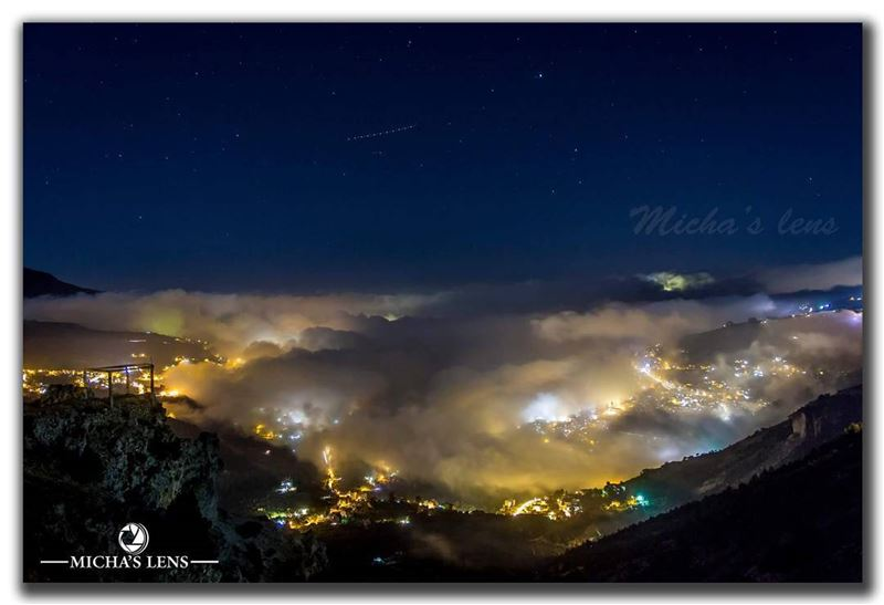 On a foggy autumn night  lebanonbylocal  discover961  lebanon ...
